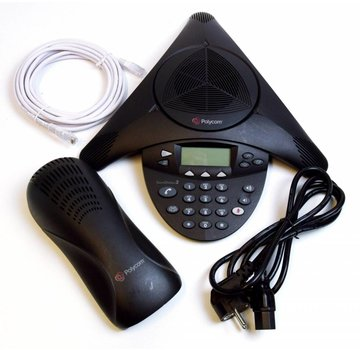 Polycom Polycom SoundStation 2 Teléfono de conferencia extensible Pantalla de teléfono de conferencia