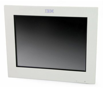 """IBM IBM 4820-2WB SurePoint 12 """"Touch Monitor TFT without Stand / Power Supply white"""