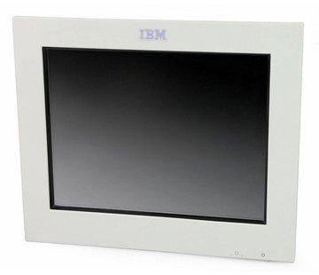 """IBM IBM 4820-2WB SurePoint TFT de monitor táctil de 12 """"sin soporte / fuente de alimentación blanco"""