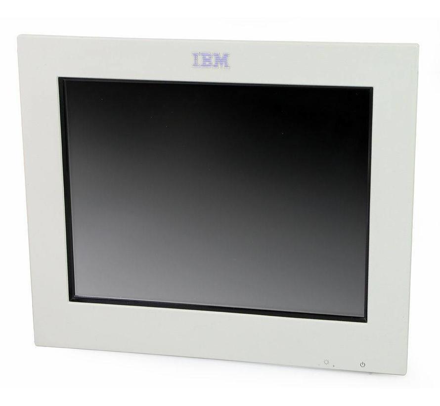 "IBM 4820-2WB SurePoint 12"" Touch Monitor TFT ohne Standfuss / Netzteil weiss"