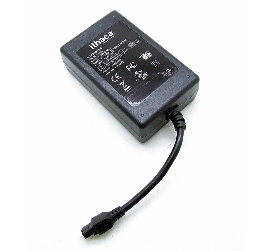 Original ithaca Netzteil CDS045-A240 AC Adapter 24V 1,87A Power Supply