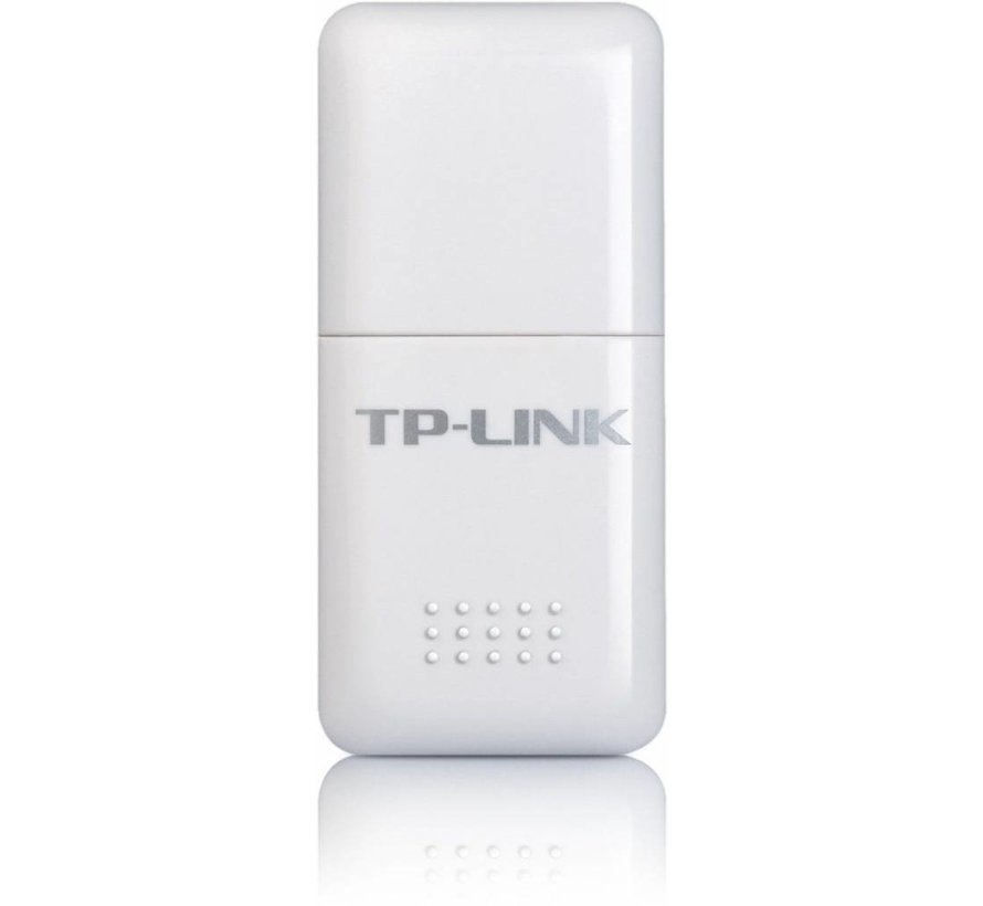 TP-Link TL-WN723N Adaptador de red inalámbrica WLAN Mini USB Adaptador blanco