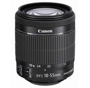 Canon Canon EF-S 18-55 mm 1: 3.5-5.6 IS STM (Hilo de filtro de 58 mm) Negro