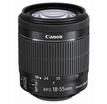 Canon Canon EF-S 18-55mm 1:3,5-5,6 IS STM Objektiv (58mm Filtergewinde) schwarz