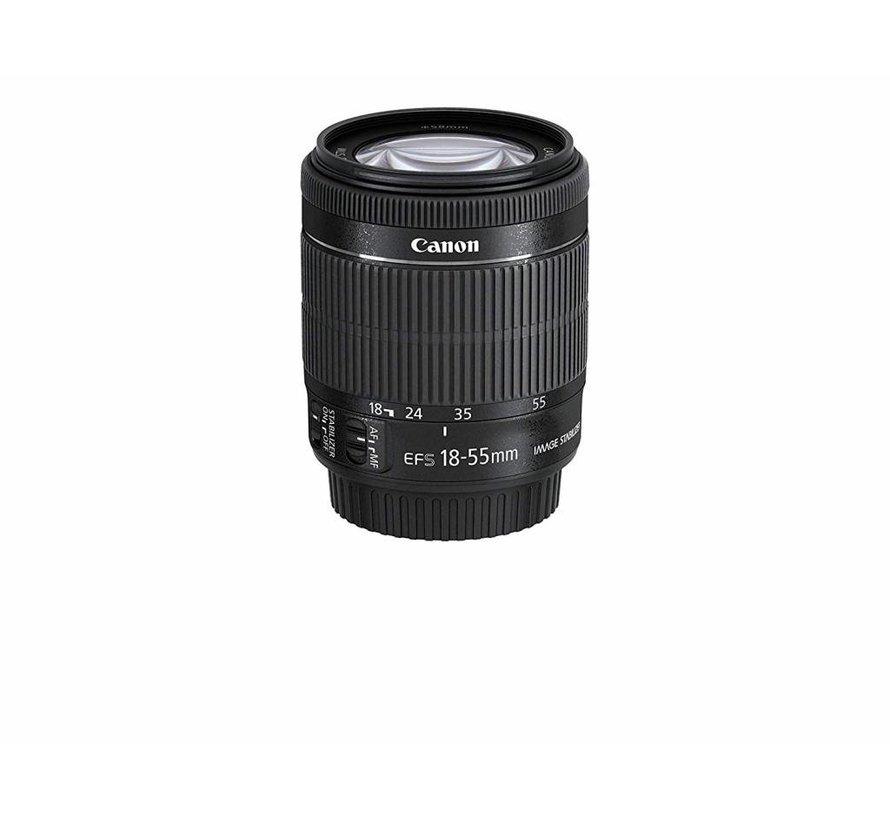 Canon EF-S 18-55 mm 1: 3.5-5.6 IS STM (Hilo de filtro de 58 mm) Negro