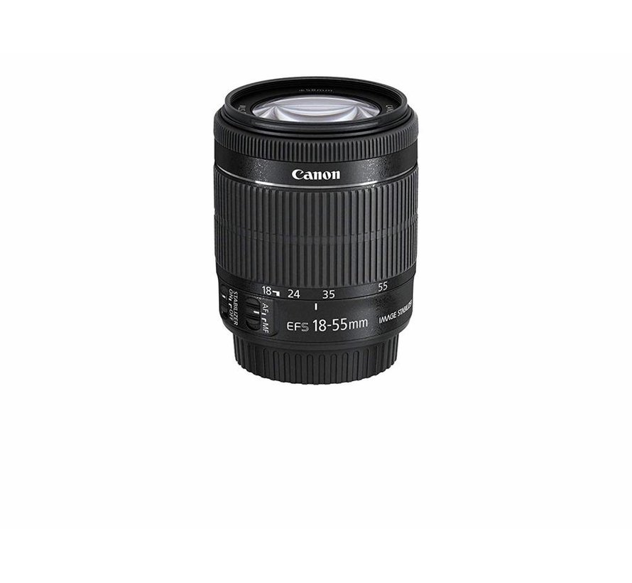 Canon EF-S 18-55mm 1: 3.5-5.6 IS STM Lens (58mm Filter Thread) Black
