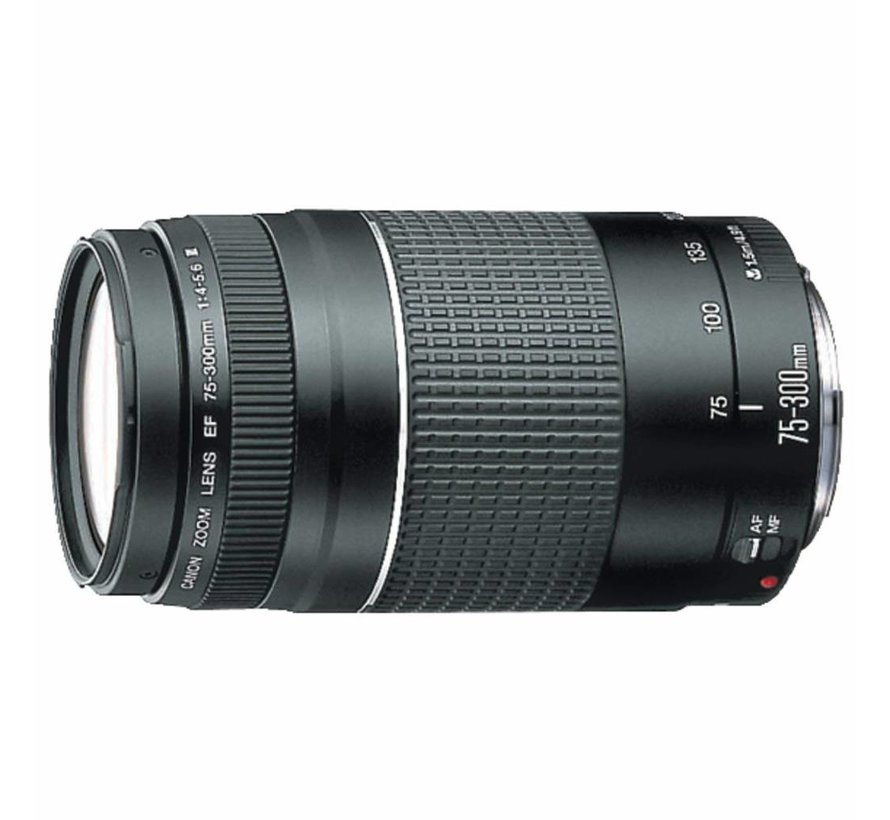 Canon EF 75-300 mm F / 4-5.6 III Teleobjetivo zoom