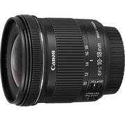 Canon Canon EF-S 10-18mm 1: 4.5-5.6 IS STM lens black