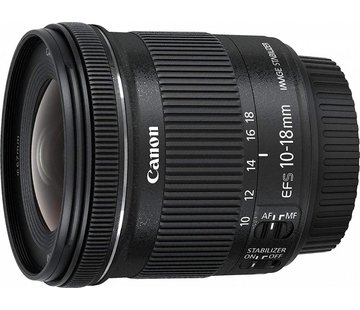Canon Canon EF-S 10-18 mm 1: 4.5-5.6 IS STM objetivo negro