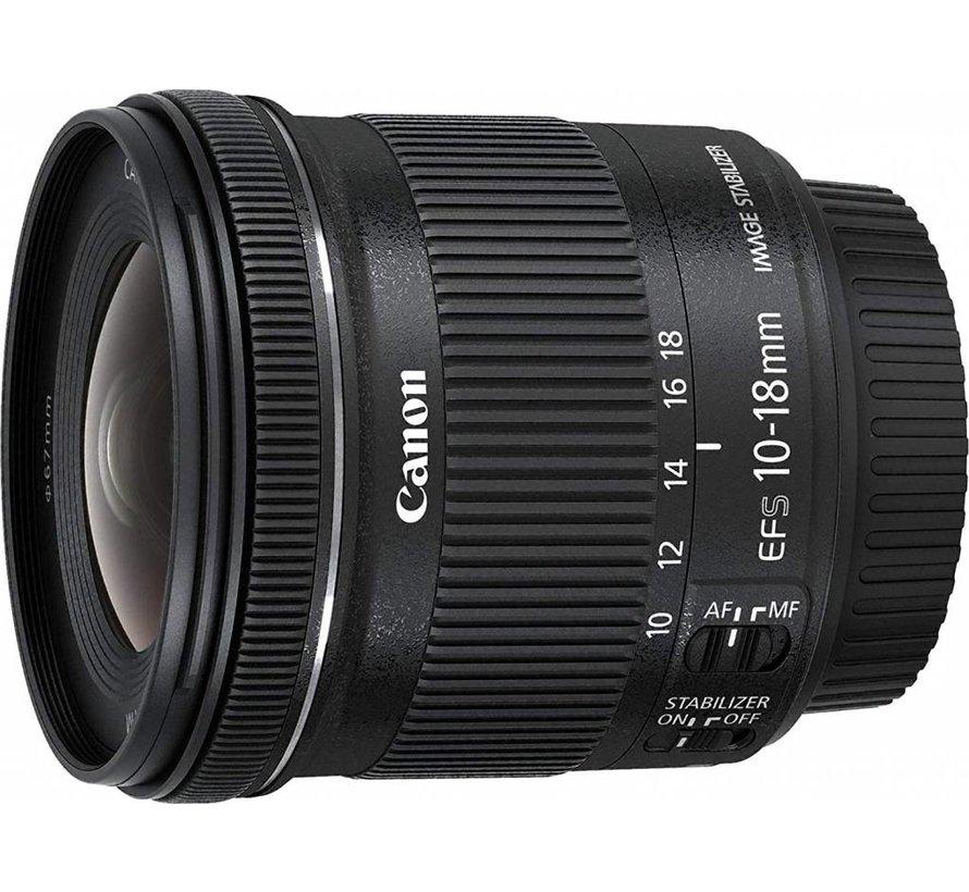 Canon EF-S 10-18mm 1:4.5-5.6 IS STM Objektiv schwarz