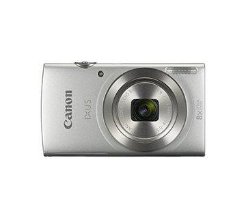Canon Cámara digital Canon IXUS 185 (20 megapíxeles, zoom óptico 8x, pantalla LCD de 6,8 cm (2,7 pulgadas), películas HD) plateada
