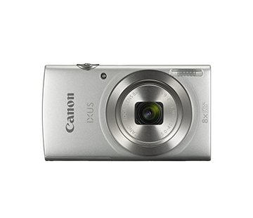 Canon Canon IXUS 185 digital camera (20 megapixels, 8x optical zoom, 6.8 cm (2.7 inch) LCD display, HD movies) silver
