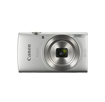 Canon Canon IXUS 185 Digitalkamera (20 Megapixel, 8x optischer Zoom, 6,8 cm (2,7 Zoll) LCD Display, HD Movies) silber