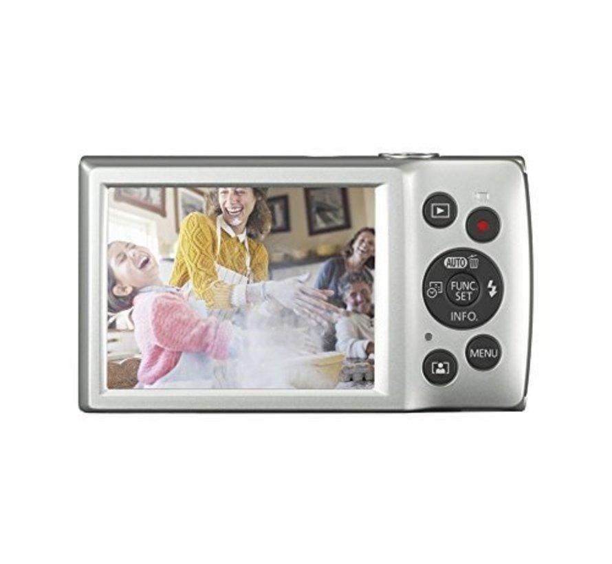 Canon IXUS 185 Digitalkamera (20 Megapixel, 8x optischer Zoom, 6,8 cm (2,7 Zoll) LCD Display, HD Movies) silber