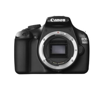 Canon Canon EOS 1100D SLR-Digitalkamera (12 Megapixel, 6,9 cm (2,7 Zoll) Display, HD-Ready, Live-View) Gehäuse