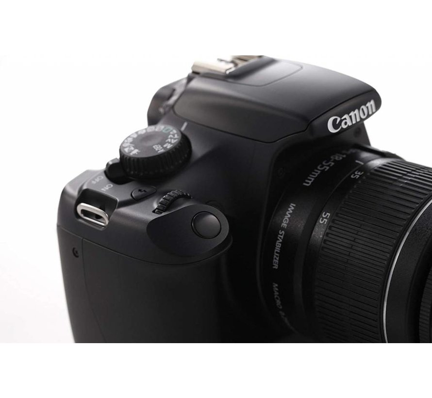 Canon EOS 1100D SLR digital camera (12 megapixels, 6.9 cm (2.7 inches) display, HD ready, live view) casing only