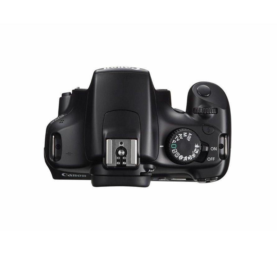 Canon EOS 1100D SLR-Digitalkamera (12 Megapixel, 6,9 cm (2,7 Zoll) Display, HD-Ready, Live-View) Gehäuse