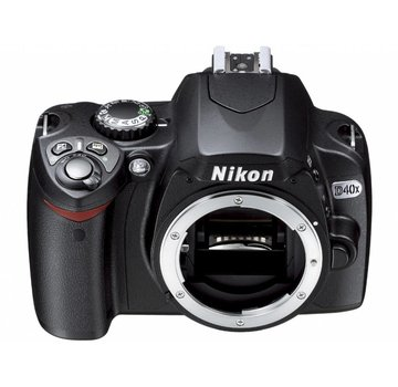 Nikon Nikon D40x SLR-Digitalkamera (10 Megapixel) nur Gehäuse