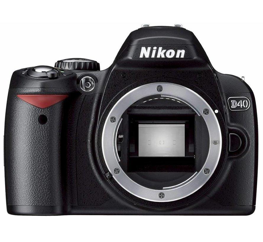 Cámara digital Nikon D40x SLR (10 megapíxeles) solo carcasa