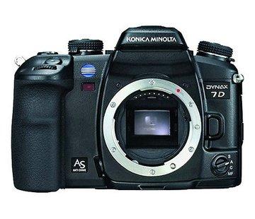 Konica Minolta Cámara digital SLR Konica Minolta Dynax 7D (6 megapíxeles) solamente