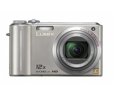 Panasonic Panasonic DMC-TZ7EG-S digital camera (10 megapixels, 12x optical zoom, 7.6 cm display, image stabilizer) silver