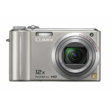 Panasonic Panasonic DMC-TZ7EG-S Digitalkamera (10 Megapixel, 12-fach opt. Zoom, 7,6 cm Display, Bildstabilisator) silber