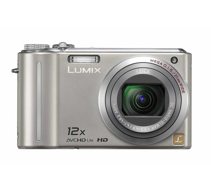 Panasonic DMC-TZ7EG-S Digitalkamera (10 Megapixel, 12-fach opt. Zoom, 7,6 cm Display, Bildstabilisator) silber