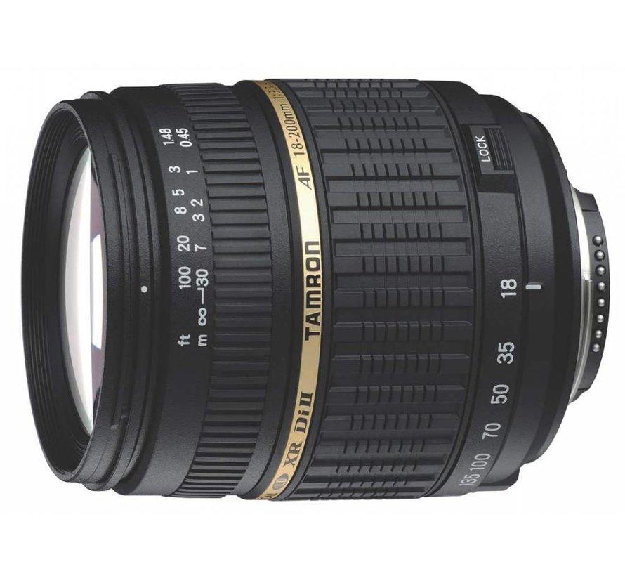 Tamron AF 18-200mm F/3.5-6.3 XR Di II LD Aspherical (IF) Macro digitales Objektiv (62mm Filtergewinde) für Nikon