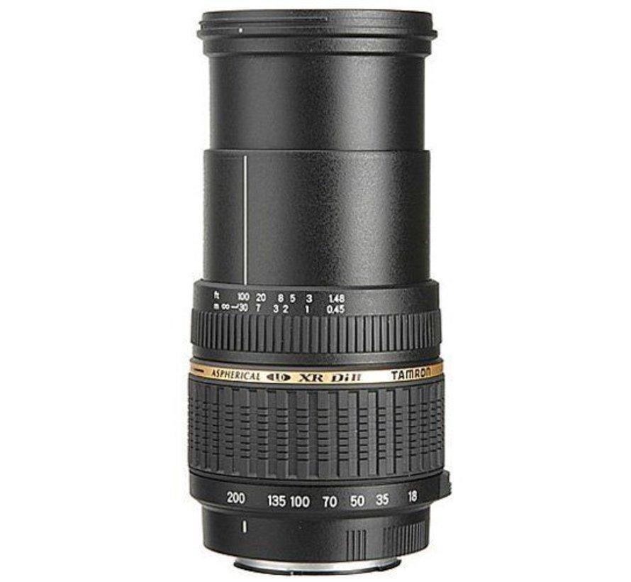 Tamron AF 18-200mm F / 3.5-6.3 XR Di II LD Aspherical (IF) Macro digital lens (62mm filter thread) for Nikon