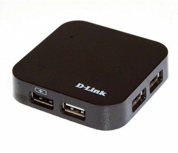 D-Link DUB-H4 4-Port HUB 4 Anschlüsse USB 2.0