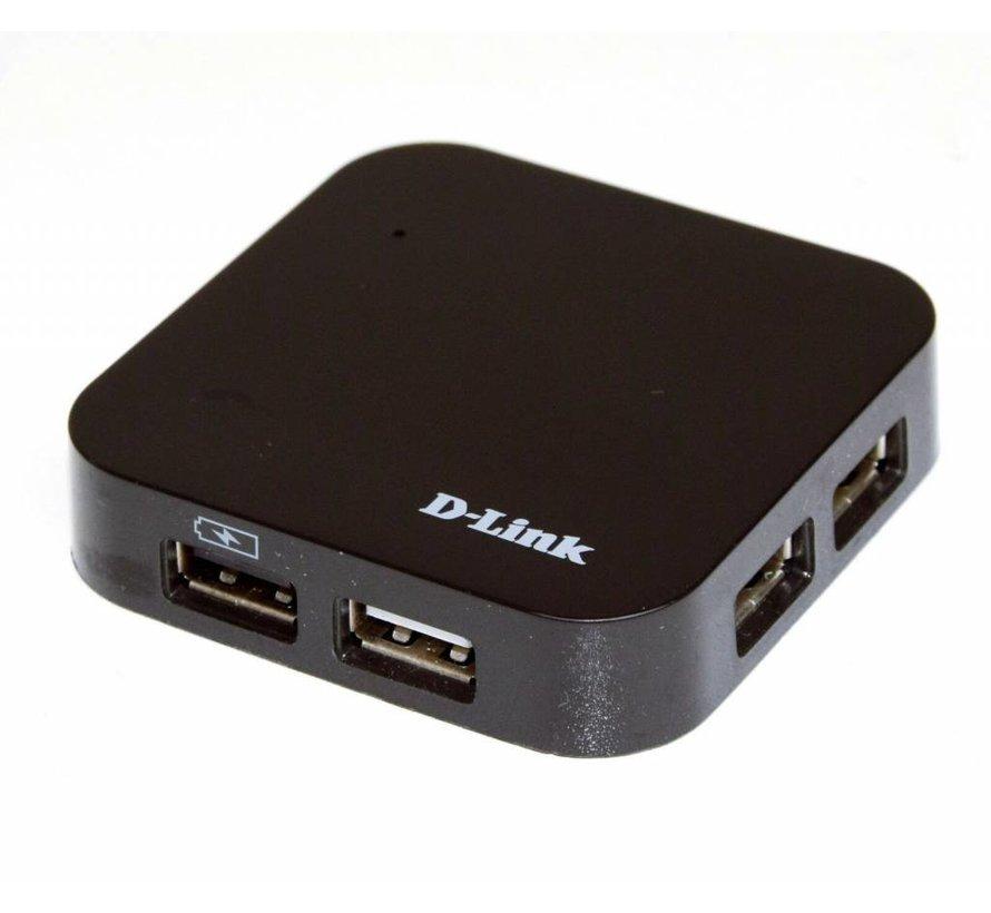 D-Link DUB-H4 HUB de 4 puertos 4 puertos USB 2.0