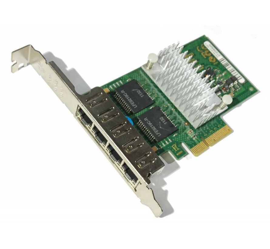 Fujitsu Primergy Quad Port PCIe x4 Gigabit Network Card D2745-A11 GS3