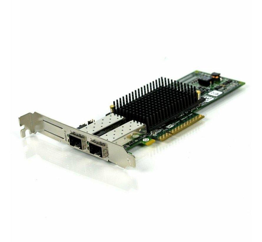 Fujitsu / Emulex LPE12002 8GB Puerto doble FC HBA 2x 8GB Gbps Adaptador de perfil bajo