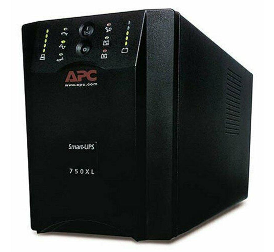 APC Smart-UPS 750VA XL USB de energía de respaldo UPS de 600 vatios - 750 VA