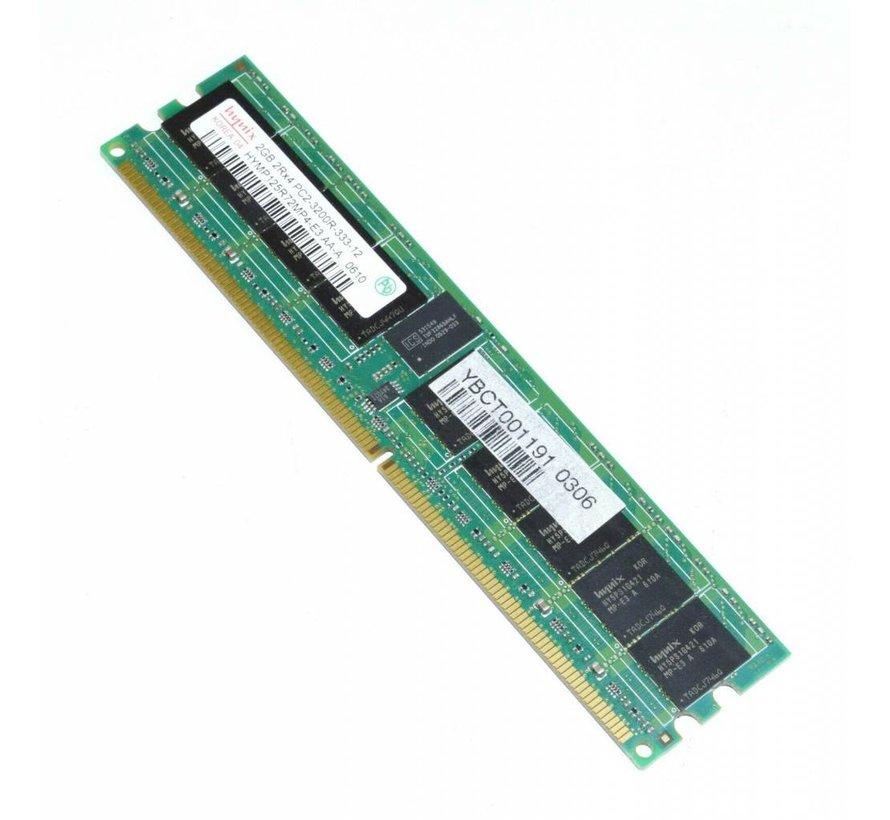 Hynix 2 GB HYMP125R72MP4-E3 PC2-3200R DDR2 Server RAM 2Rx4
