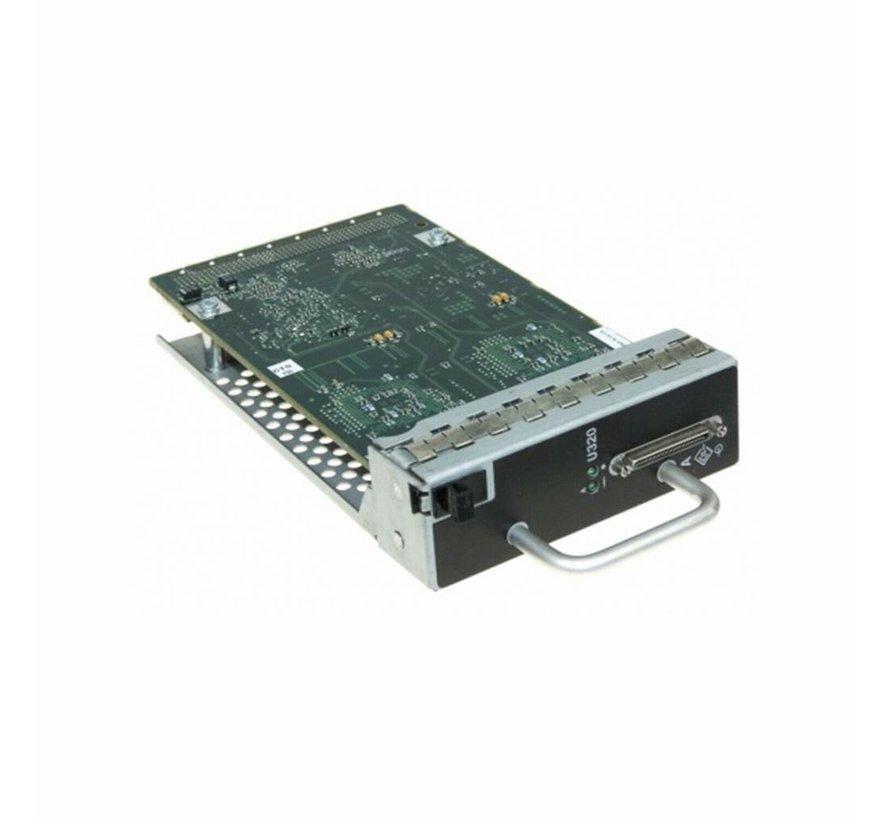 HP 326164-001 MSA Single Port U320 SCSI I/O Module 70-40453-02