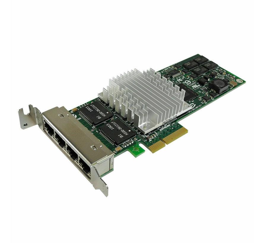 HP Intel PRO / 1000 PT Quad Port LP Gigabit Ethernet Adaptador NC364T 436431-001