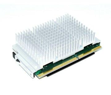 Intel CPU Intel Pentium III 733/256/133 / 1.65V S1 SL3XN Procesador y disipador de calor