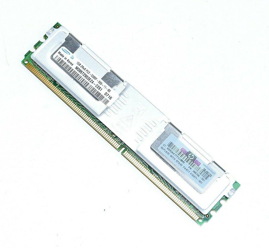 Samsung 1GB 2Rx8 PC2-5300F Server Arbeitsspeicher DDR2 RAM M395T2953EZ4-CE61