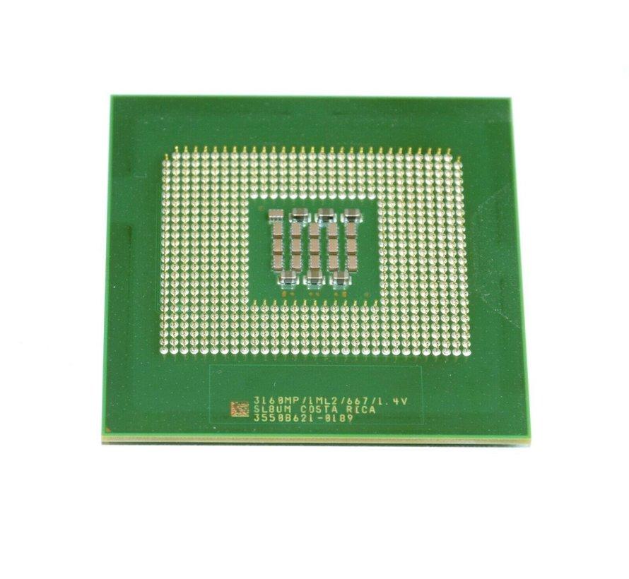 Intel Xeon MP-SL8UM SL84U Fujitsu 3.16GHz 3167MHz 1MB 667MHz processor