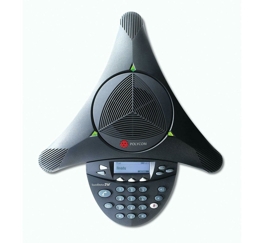 Polycom SoundStation 2W Conference Phone 2201-67800-101 Conference DECT