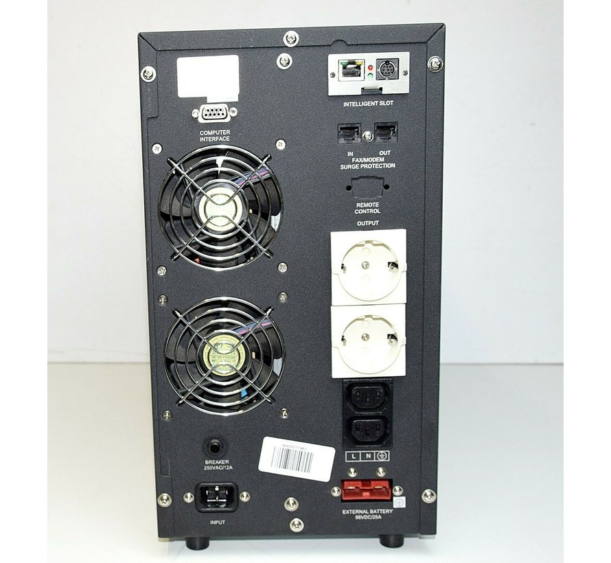 RUBIN ST3020006PRO USV 2000VA 1400W Unterbrechungsfreie Notstromversorgung S2