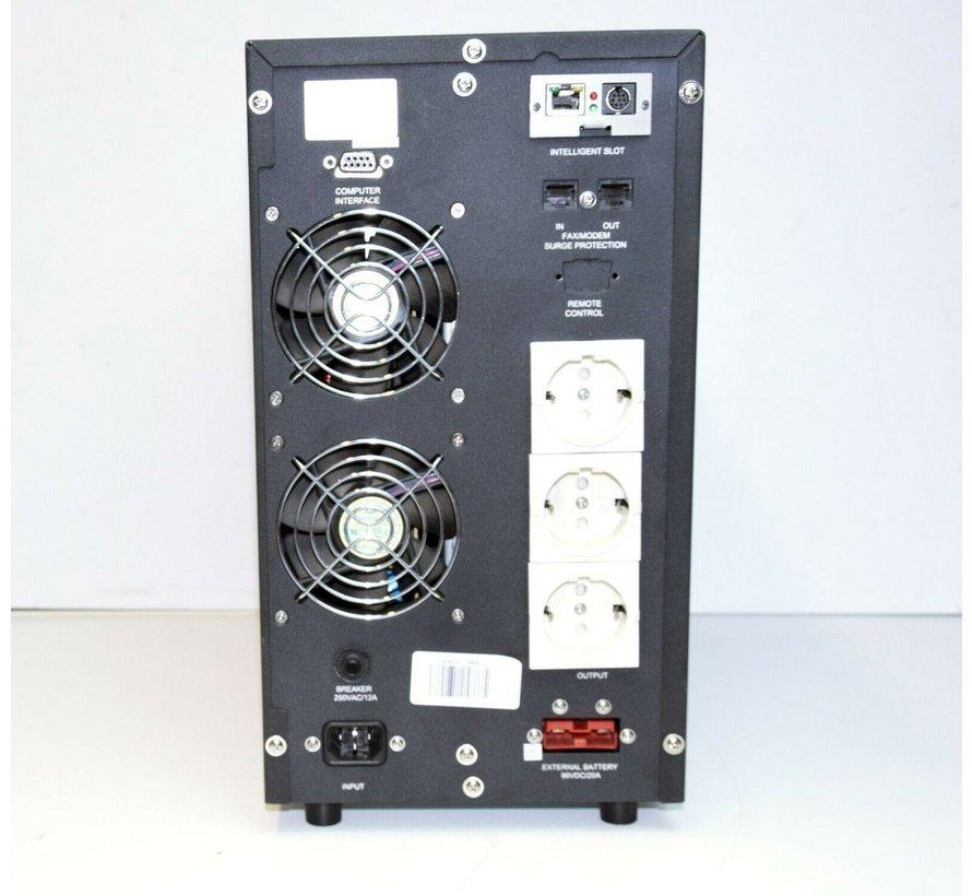 RUBIN ST3020006PRO UPS 2000VA 1400W Uninterruptible power supply S3