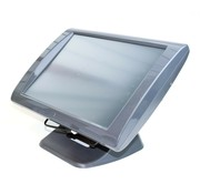 "SAGA SGS-150-DC-G Kassensystem POS Terminal 15"" Touch Screen Display PC"
