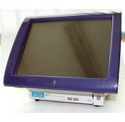 "Jes Posligne Odysse500-W-E POS System POS System 15 ""Touchscreen + PC"