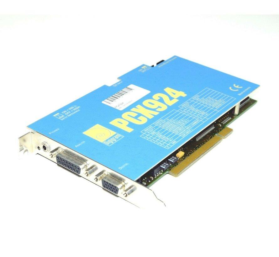 DIGIGRAM PCI - Tarjeta de sonido Digigram PCX924 Digital + Analog HiEnd
