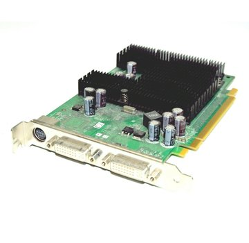 NVIDIA GeForce 7300LE 128MB TrueMenory graphics card PCI-E 16x 2x DVI S-Video