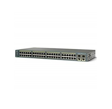 Cisco CISCO WS-C2960-48PST-L Catalyst 2960 48 10/100 PoE + 2 1000BT +2 SFP LAN Bas