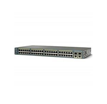 Cisco CISCO WS-C2960-48PST-L Catalyst 2960 48 10/100 PoE + 2 1000BT +2 SFP LAN Bas