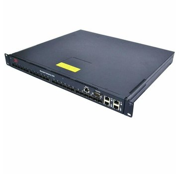 Brocade TurboIron 24x TI-24X-AC 24-Port SFP Gigabit Ethernet Network Switch 2PSU